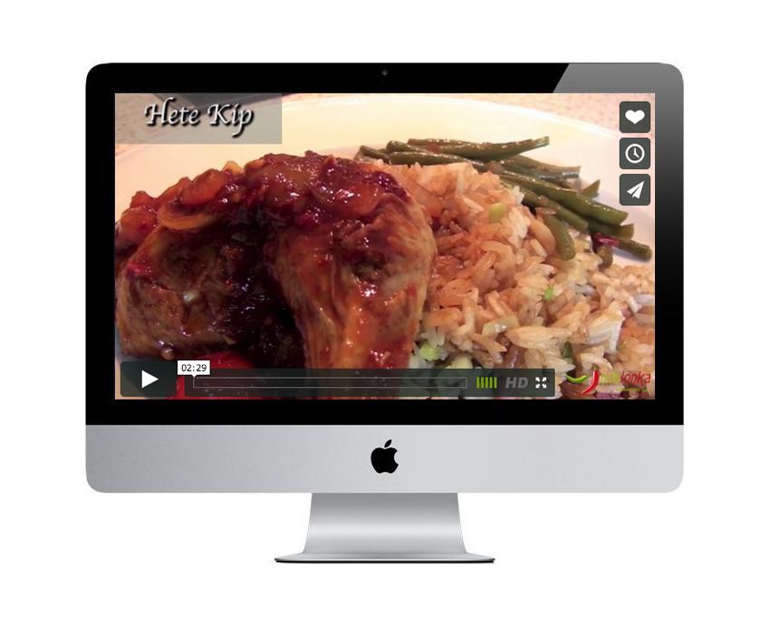 Hete Kip - online kook workshop
