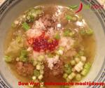 Liefde gaat door de maag - Baw Wan - Indonesische maaltijdsoep #indofood